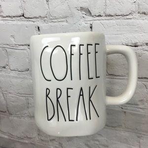 ❗️SALE❗️Rae Dunn COFFEE BREAK coffee mug